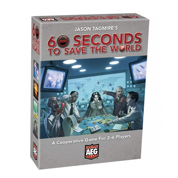 60 Seconds to Save the World Board Game