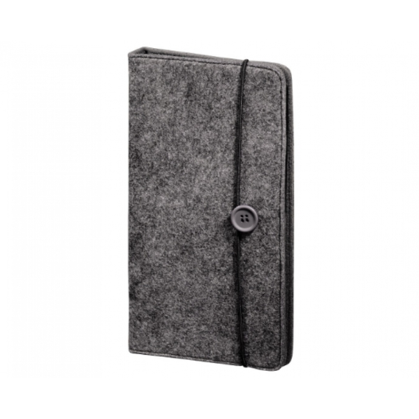 Felt CD/DVD/Blu-ray Wallet 48 (Grey)