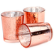 Set of 12 Speckled Tealight Candle Holders | M&W Rose Gold - Image 2