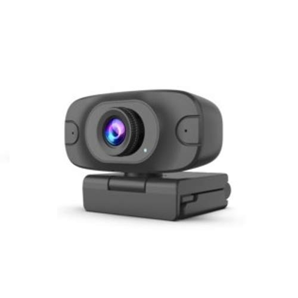 JPL Vision & Voice USB 1080p Mini HD Webcam, ideal for Remote Home Workers, Office Workers, Students, Schools or Universities - Black