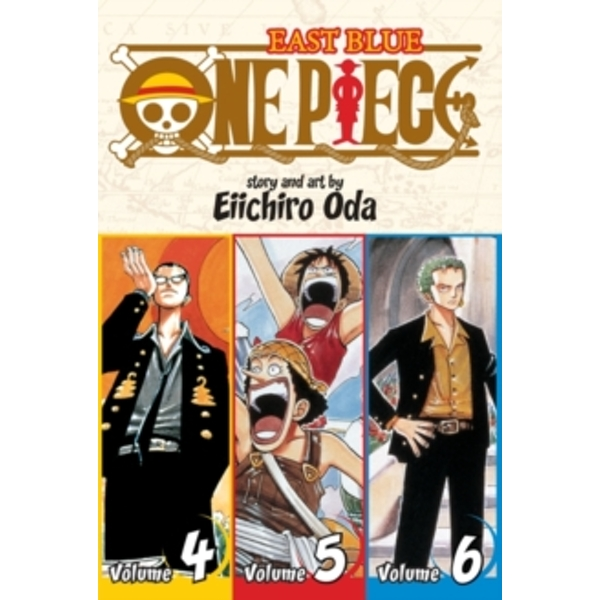 One Piece:  East Blue 4-5-6, Vol. 2 (Omnibus Edition) by Eiichiro Oda (Paperback, 2010)