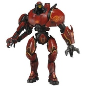 Ex-Display Neca Pacific Rim 7 Inch Deluxe Action Figure the Essential Jaegers Crimson Typhoon Used - Like New