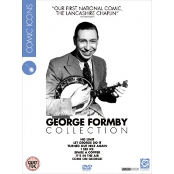 George Formby - Comic Icons DVD