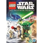 Star Wars Lego The Padawan Menace DVD