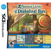 Professor Layton 2 and Pandoras (the Diabolical) Box Game DS (#)
