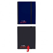 Ultra Pro Binder Blue & Black Flip