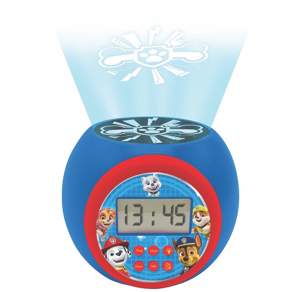 Paw Patrol Childrens Projector Clock with Timer