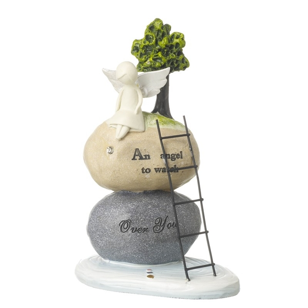 Angel To Watch Over You Stone By Heaven Sends