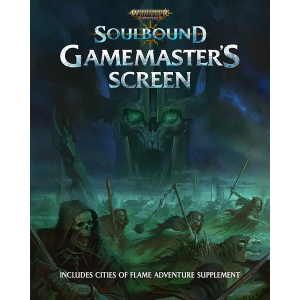 Warhammer: Age of Sigmar Roleplay - Soulbound Gamemaster's Screen