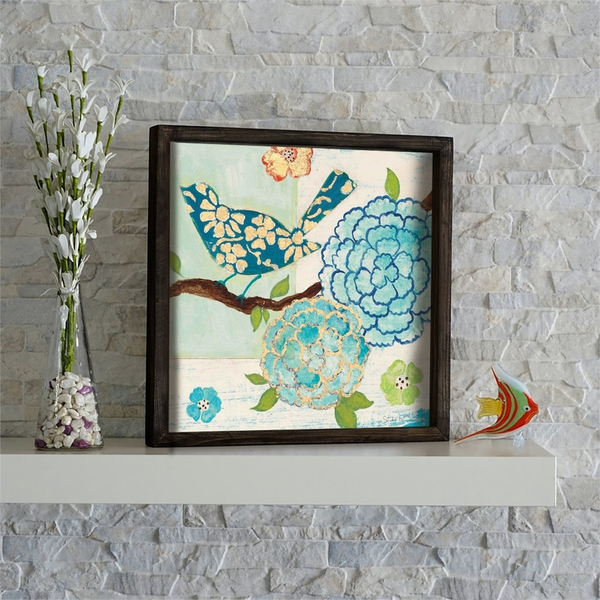 KZM482 Multicolor Decorative Framed MDF Painting