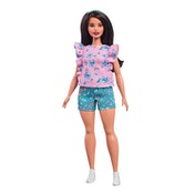 Barbie Fashionista Doll - Floral Frills