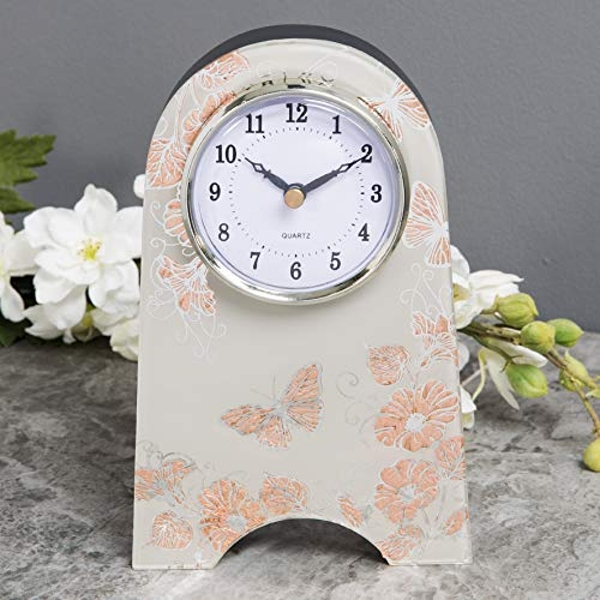 Sophia Rose Gold Collection Mantel Clock