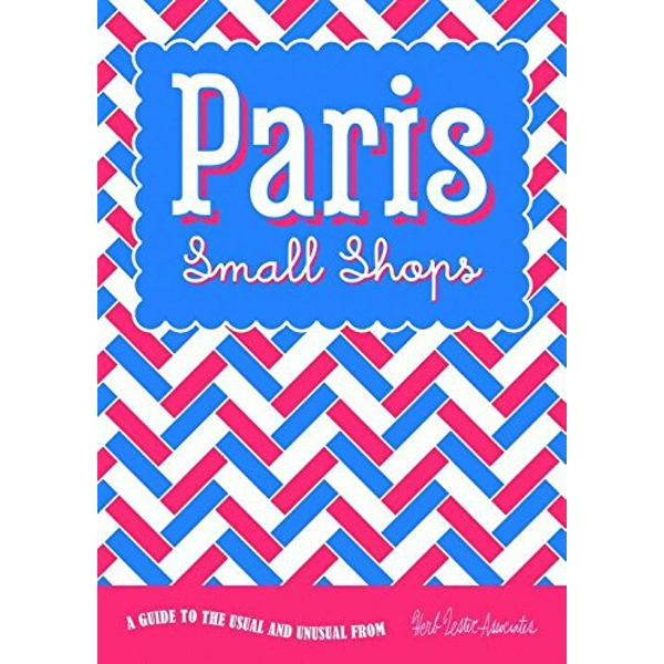 Paris: Small Shops  Sheet map, folded 2015