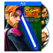 Star Wars Clone Wars Season 5 Blu-ray