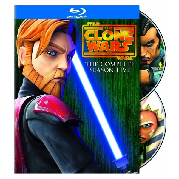 Star Wars Clone Wars Season 5 Blu-ray - nzgameshop com