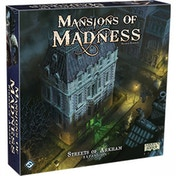Mansions of Madness Streets of Arkham Expansion