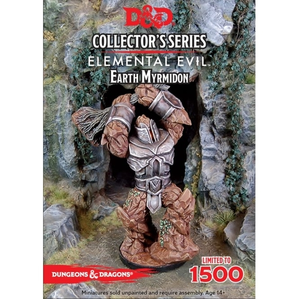Dungeons & Dragons Collector's Series Princes of the Apocalypse Miniature Earth Myrmidon