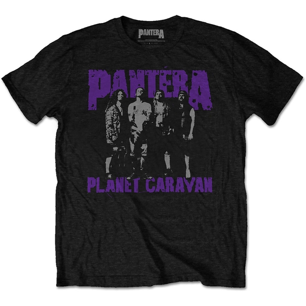 Pantera - Planet Caravan Men's XX-Large T-Shirt - Black