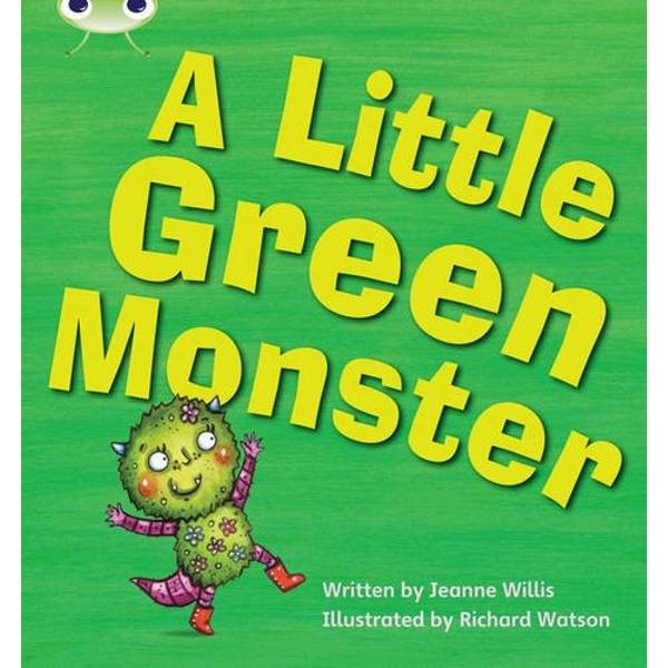 A Little Green Monster: Set 12 by Jeanne Willis (Paperback, 2010)