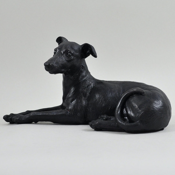 Large Greyhound Lying Down Sculpture