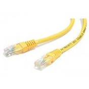 2 ft Yellow Molded Category 5e (350 MHz) UTP Patch Cable