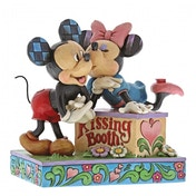 Kissing Booth (Mickey Mouse & Minnie Mouse) Disney Traditions Figurine
