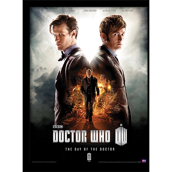 Doctor Who - Day of the Doctor Framed 30 x 40cm Print