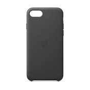 Apple Leather Case (for iPhone SE) - Black
