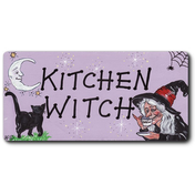 Kitchen Witch Smiley Magnet
