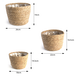 Seagrass Planters - Set of 3   M&W - Image 8