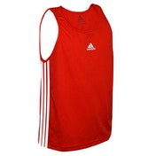 Adidas Boxing Vest Red - XLarge