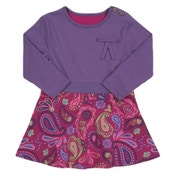 Kite Kids Baby-Girls 2-3 Years Bow Skater Paisley Dress