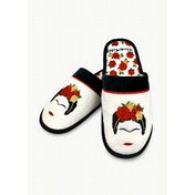 Frida Kahlo Minimalist Mule Slipper UK Size 5-7