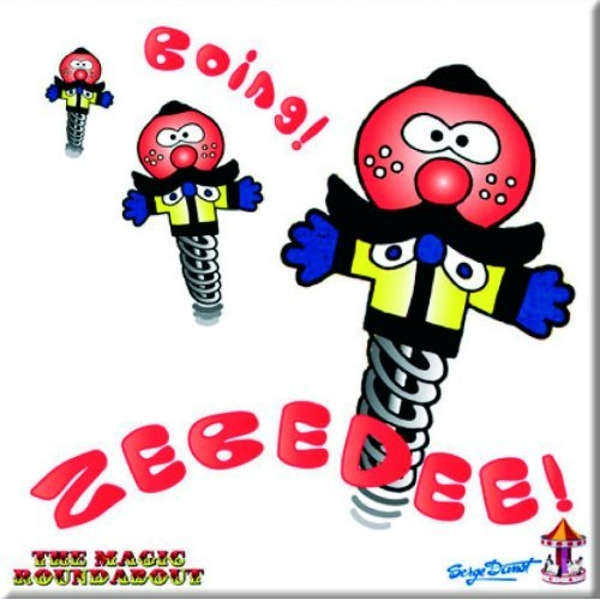 Magic Roundabout - Zebedee Fridge Magnet