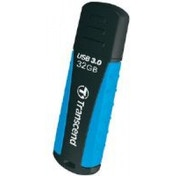 Transcend JetFlash 810 (32GB) USB 3.0 Flash Drive Black/Blue