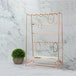 Rose Gold Jewellery Stand with Ceramic Dish - Image 3