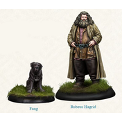 Harry Potter Miniatures Adventure Game Rubeus Hagrid Expansion Board Game