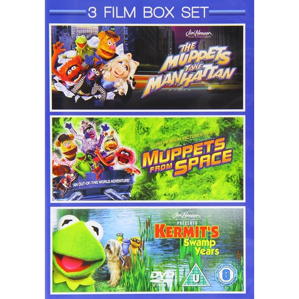 Muppets from Space / Muppets Take Manhattan / Kermit\'s Swamp DVD