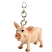 Little Paws Key Ring Pig