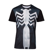 Spider-man - Venom Suit Sublimation Men's Medium T-Shirt - Black