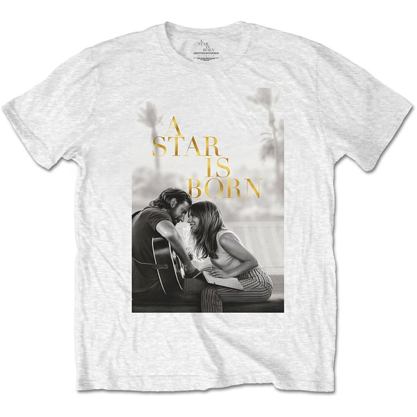 A Star Is Born - Jack & Ally Movie Poster Unisex Small T-Shirt - White