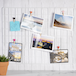 Pack of 2 Wall Hanging Grid Panels | Pukkr White - Image 2