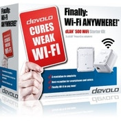 Devolo dLAN powerline 500 WiFi Starter Kit 2x UK Plug
