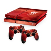 Official Liverpool FC PS4 Console Skin and 2x Controller Skin Combo Pack