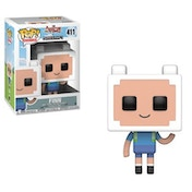 Finn (Adventure Time Minecraft) Funko Pop! Vinyl Figure