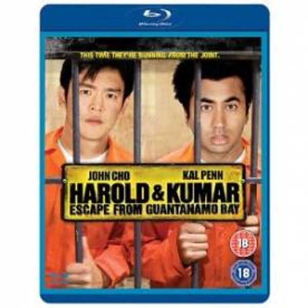 Harold and Kumar Escape from Guantanamo Bay Blu-Ray