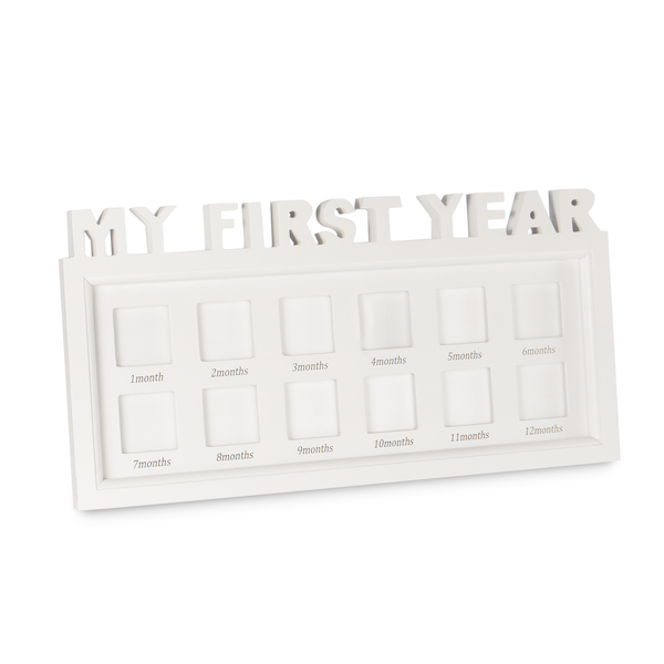 My First Year Baby Photo Frame   M&W