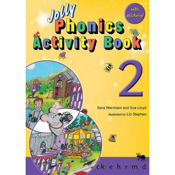 Jolly Phonics Activity Book 2: in Precursive Letters (BE) by Sue Lloyd, Sara Wernham (Paperback, 2010)