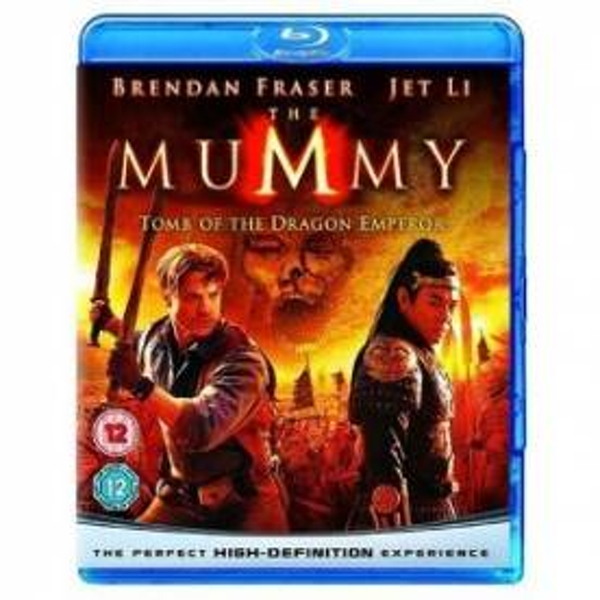 The Mummy Tomb of the Dragon Emperor Blu-Ray