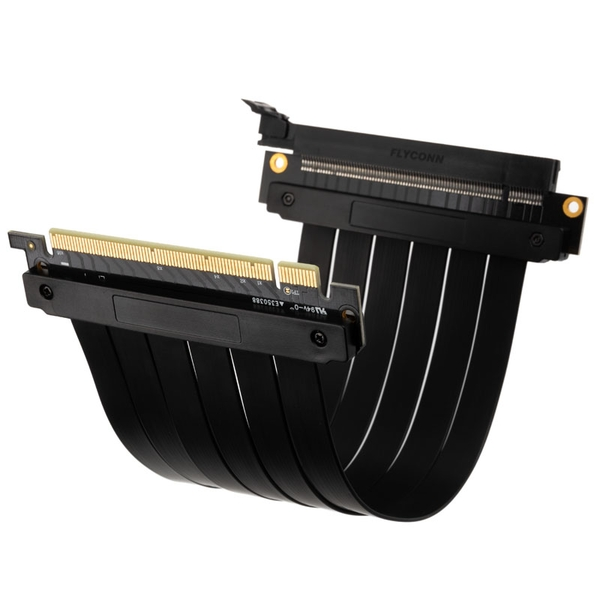 Kolink PCI-E 3.0 16x Riser Cable 180 Degrees - 200mm Black